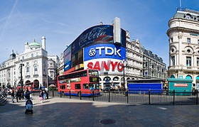 Piccadilly Circus Panorama